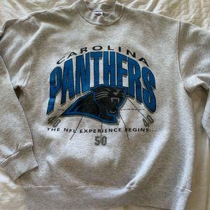 Tops - Vintage Carolina Panthers Crewneck
